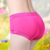 正品 竹纤维无痕 舒适 女士三角内裤 中底腰 全棉内裤