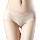 正品 光面一片无痕式舒适健康内裤