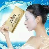 正品 玛莎妮娜 多肽水润驻颜修护蚕丝面膜(10片\散装)新版 补水美白敏感肌.孕妇可用 特价包邮