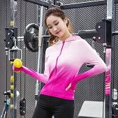 瑜伽服女 运动外套跑步健身...