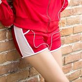 跑步健身运动休闲短裤 女 ...