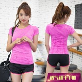 新款韩版女式运动t恤短袖 ...