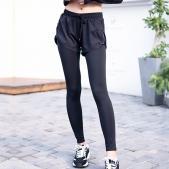 春秋新款假两件瑜伽服健身裤...